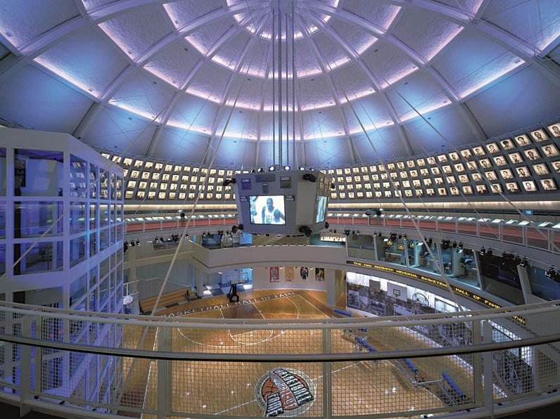 Naismith Memorial Basketball Hall Of Fame Gwathmey