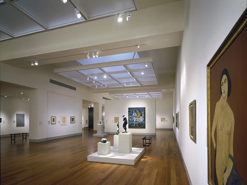 Louise Wells Cameron Art Museum Gwathmey Siegel Kaufman