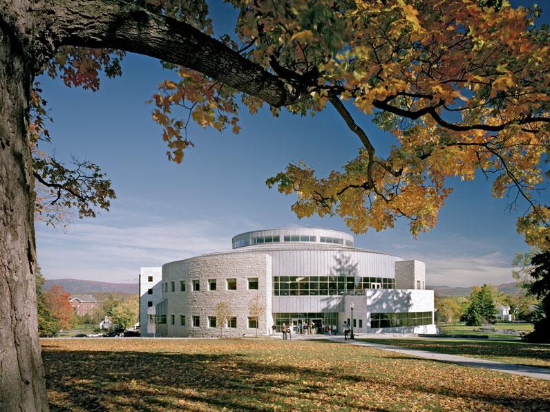 Middlebury College Gwathmey Siegel Kaufman