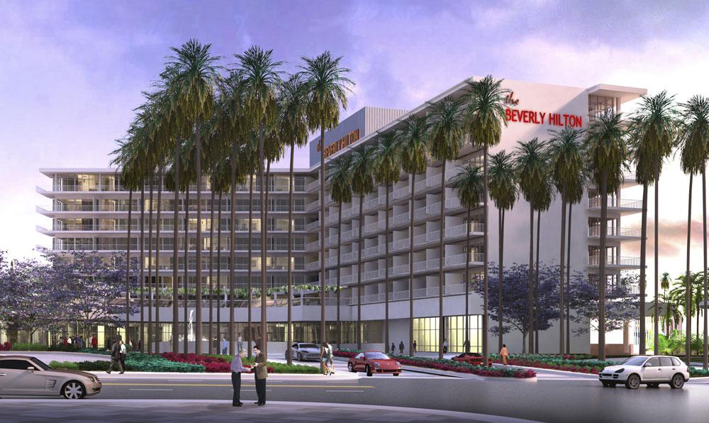 Beverly Hilton Hotel Gwathmey Siegel Kaufman