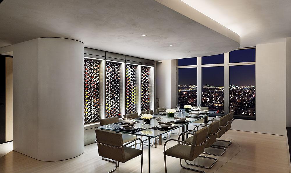 Apartment 40 41 gwathmey siegel kaufman for Central park penthouses